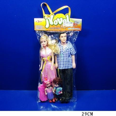 Кукла типа Барби и Кен 5388 детки, телефон