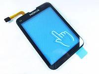 Тачскрин (сенсор) для Nokia C3-01 (Black) Качество
