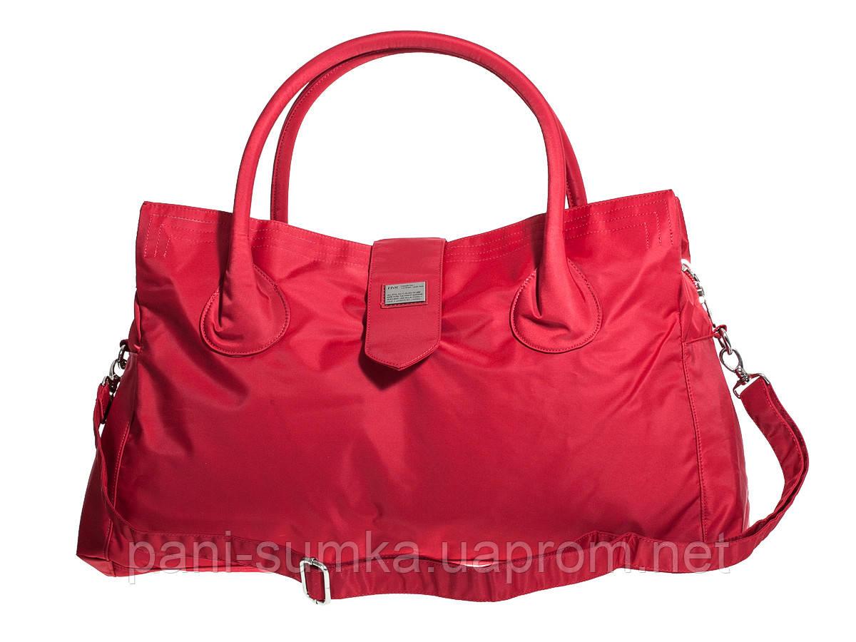e3d512fc7200 Дорожная сумка, саквояж Epol 2360 средняя М красная 51*27*20 см ...