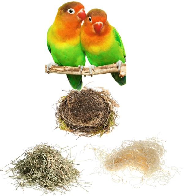 Наполнители для птичьих клеток