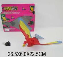 Летающий попугай на батарейках