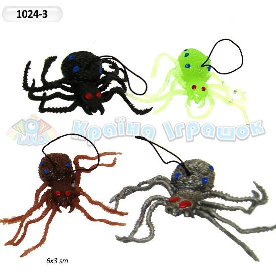 Павук паук 1024-3 силикон резина приколы шалости