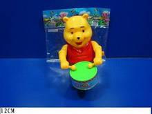 Заводная игрушка 2312 Винни барабанщик