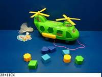 Каталка А6-2 Вертолет логика сортер на веревке