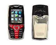 Новый мобильный телефон Телефон Donod Dx9 Dual Sim, FM, Металлический корпус