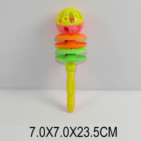 Погремушка в ручку 0037, размер 24*7*7см