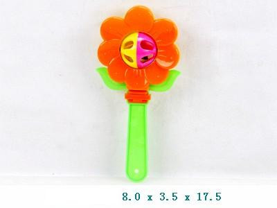 Брязкальце у ручку 831-1 Квіточка 8*3,5*17см