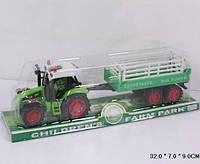 Трактор 2011-16 з прицепом