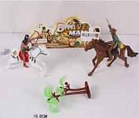 Набір індійці ковбої, индейцы ковбои кони 2в1