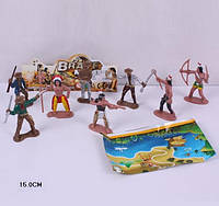 Набір індійці ковбої, индейцы ковбои 8-героев