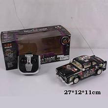 Машина 365-25 на радиоуправлении Черная Молния р/у