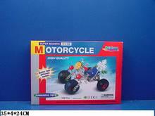 Металлический конструктор 806 мотоцикл