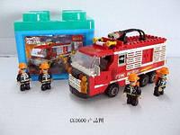 3600 конструктор типа лего Пожарная часть