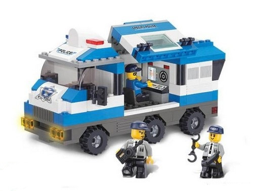 0188 конструктор лего Sluban Поліція полиция