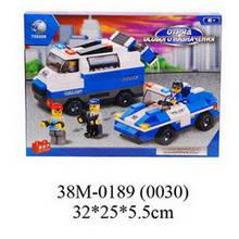 0189 конструктор лего Sluban Поліція полиция