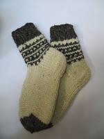 Шкарпетки теплі  з натуральної  овечої шерсті  (№1)