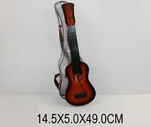Гітара на струнах 8014 чохол 49см сувенір іграшка