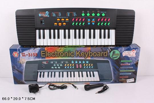 Орган пианино 3138, сеть 220V, синтезатор, 37 клавиш