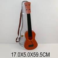 Гитара струнная 8020, чехол, 60см