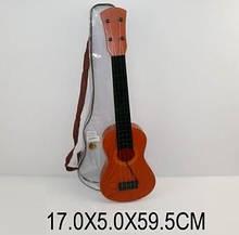 Гітара на струнах 8020 чохол 60см сувенір іграшка