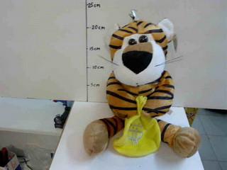 Мягкая игрушка Тигр с мешком