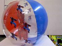 Мяч надувной Спайдермен с фигуркой