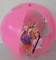 """Пляжный мяч надувной Барби с фигуркой 15"""""""