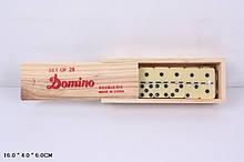 Домино Классик 4006Д в деревянной коробке