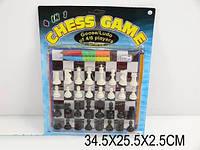 Шахматы 02001 4в1 поле 21*21см