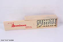 Домино Классик 5010Д в деревянной коробке