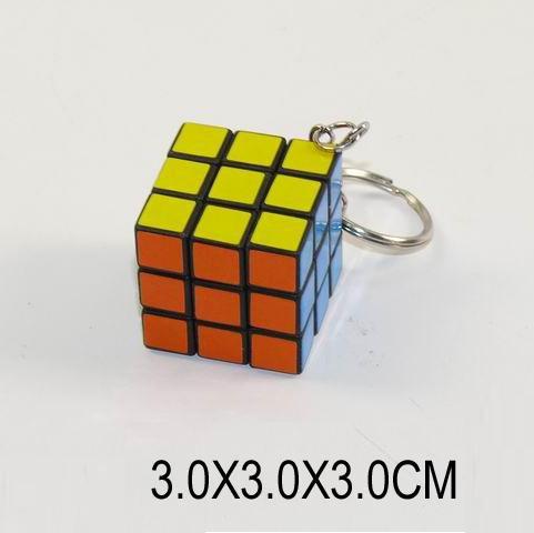 Кубик Рубика 330-1логика 3*3*3 брелок