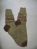 Шкарпетки теплі  з натуральної  овечої шерсті  (№3)