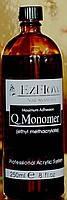 EZFLOW Мономер (ликвид) для акриловой пудры, 250мл.