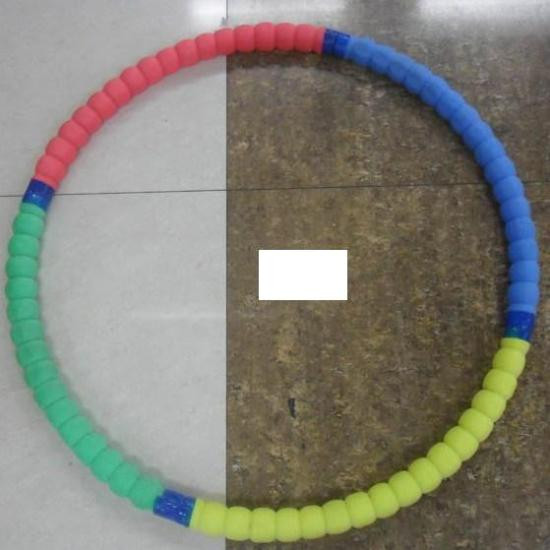 Хулахуп 02128 метал, фомовый, 80см
