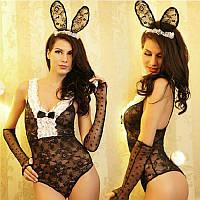 Игровой костюм «Зайка» Эротическое белье / Сексуальное белье / Еротична сексуальна білизна, фото 1