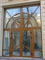 Установка и продажа дверей металлопластиквых в Херсоне
