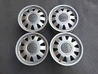 Оригинальные легкосплавные диски audi 5х112 r15 et 45 6J