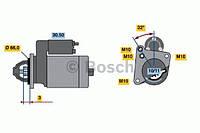 Стартер HC PARTS CS354, CS575; BOSCH 0986013200, 9000331411, 0001110003 на Renault Super 5
