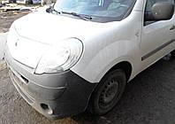 Крило переднє біле Крыло переднее Renault Kangoo Рено Канго 2008-12