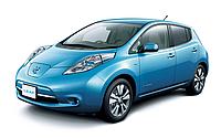 Бампер передний Nissan Leaf / Ниссан Лиф