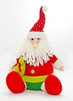 Дед Мороз 41 см сидячий 800975