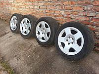 Оригинальные литые диски с резиной Audi R17 5x112