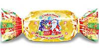 Недорогой Новогодний подарок конфет оптом, 300г