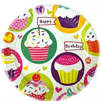 Тарелка для вечеринки Кексы
