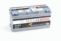 Аккумулятор BOSCH S5 AGM 105Ah , EN950 , для системы START-STOP ( Bosch 0 092 S5A 150 ) 393*175*190 (Д*Ш*В), фото 1