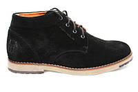 Распродажа со склада по оптовым ценам!!Ботинки зимние мужские замшевые  TOP – HOLE(топ-хол) чёрные