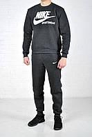Мужской утепленный спортивный костюм Nike Sportwear серый найк  / nike