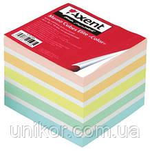 """Бумага для заметок не проклеенная, ELITE - 70 г/м2, """"Color"""" 9*9 1000 листов. AXENT"""