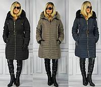 Зимнее жеское пальто большие размери