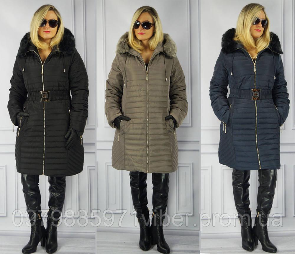 Зимнее жеское пальто большие размери - ПОЛЬЩА ПОСЕРЕДНИК-ПОВЕРНЕННЯ НЕ МАЄ.0990239533 Ціну та наявність товару уточняйте! в Львове
